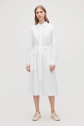 Cos PLEATED-BACK SHIRT DRESS