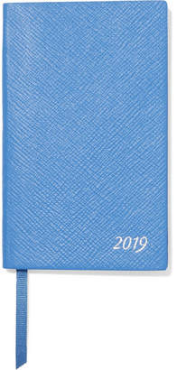 Smythson Panama 2019 Textured-leather Diary