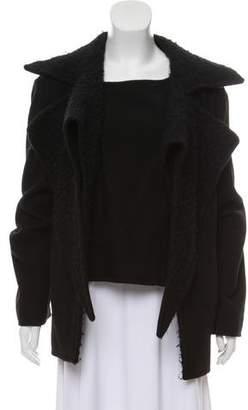 Haider Ackermann Layered Wool Coat