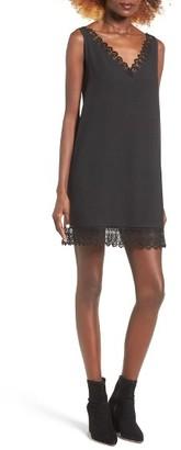Women's Leith Lace Trim Shift Dress $69 thestylecure.com