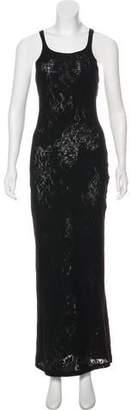 Christian Lacroix Bazar de Sleeveless Maxi Dress