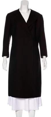 Akris Wool Long Sleeve Coat