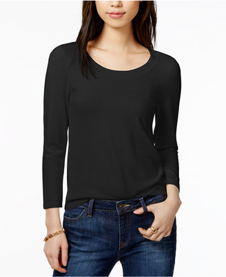 Tommy Hilfiger Scoop-Neck Sweater, Only at Macy's $69.50 thestylecure.com