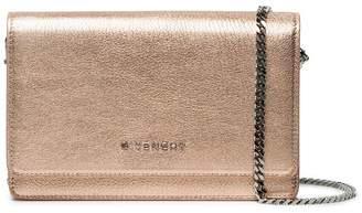 Givenchy rose gold Pandora leather wallet bag
