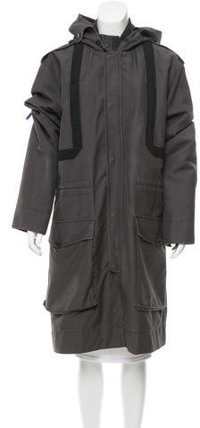 Marc By Marc JacobsMarc by Marc Jacobs Hooded Long Coat