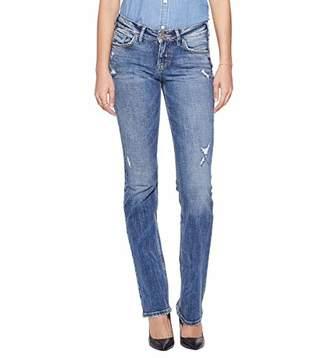 Silver Jeans Co. Women's Suki Slim Boot Mid Rise