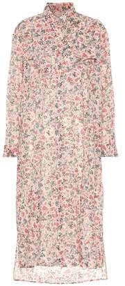 Etoile Isabel Marant Isabel Marant, Étoile Eliane floral cotton shirt dress