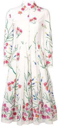 Carolina Herrera floral patterned shirt dress
