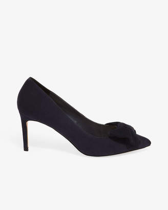 98dbb849a9c at Phase Eight · Phase Eight Bianca Bow Front Court Shoe