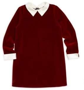 Bonpoint Little Girl's & Girl's Velvet Shirt Dress