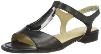 ara Women's Leather Sandals Black