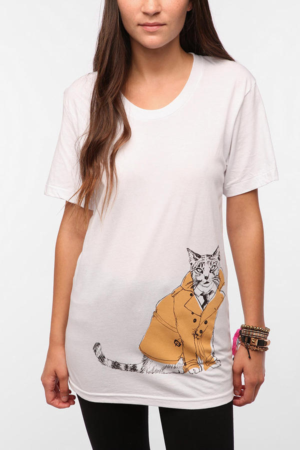 UO Isabel Sicat for RISD + Cat In A Jacket Tee