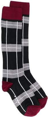 Marni check pattern socks