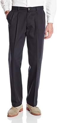Wrangler Authentics Men's No-Iron Pleated Casual Pant