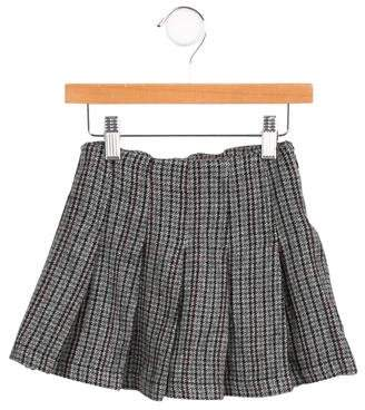 Marni Junior Girls' Patterned Pleated Skirt