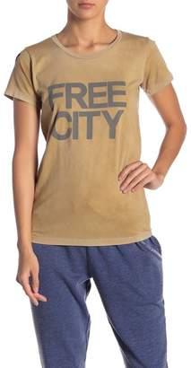 Freecity Free City Logo Graphic Tee