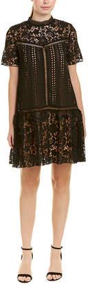 DAY Birger et Mikkelsen Champagne & Strawberry Lace Shift Dress