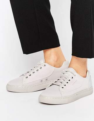 G-Star Thec Low Gray Sneakers $127 thestylecure.com