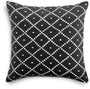 Sky Basket Diamond Decorative Pillow, 18 x 18 - 100% Exclusive