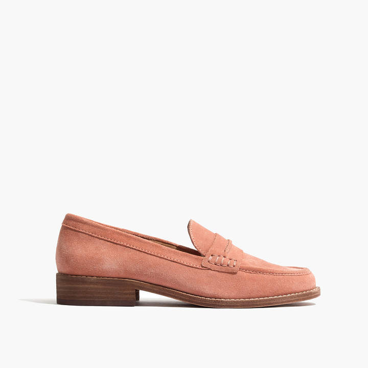 The Elinor Loafer in Suede