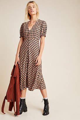 Kirei Hillary Button-Front Maxi Dress