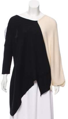 Yigal Azrouel Colorblock Cashmere Sweater
