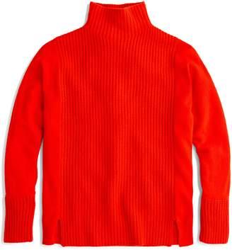 J.Crew Mock Neck Cashmere Sweater
