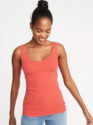 2e103bbe57b3c Old Navy First-Layer Fitted Rib-Knit Tank for Women