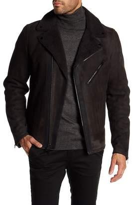 Rag & Bone Genuine Shearling Moto Jacket