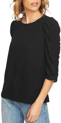 1 STATE 1.STATE Ruched-Sleeve Top