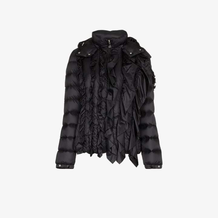 Moncler Genius X darcy ruffle puffer jacket