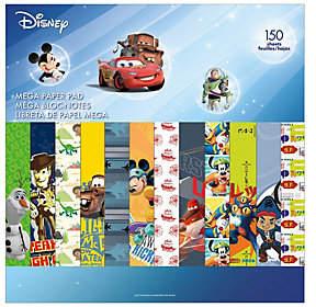 Disney Mega Paper Pad - Boy Designs 2