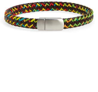 Nordstrom Mixed Braided Leather Bracelet