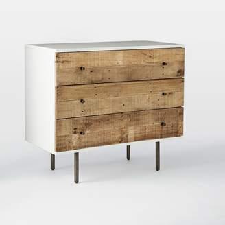 west elm Reclaimed Wood + Lacquer 3-Drawer Dresser