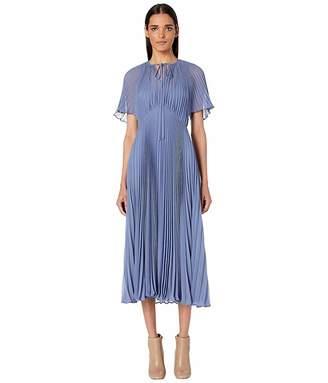 Jill Stuart Pleated Midi Dress