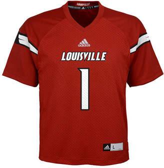 adidas Louisville Cardinals Replica Football Jersey, Big Boys (8-20)