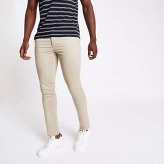 River Island Light brown skinny fit pants