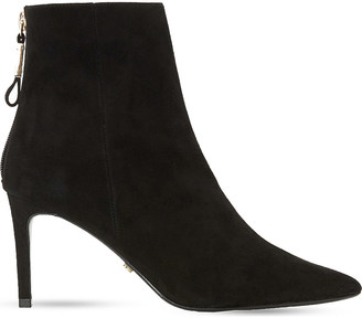 Dune Oralia suede ankle boots