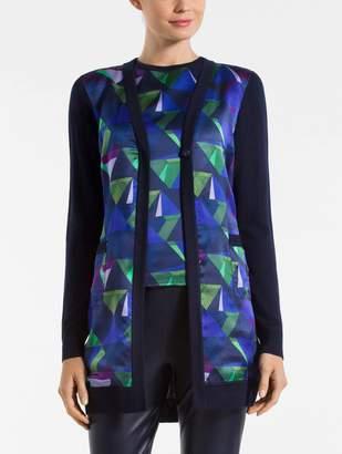 St. John Fine Gauge Jersey Knit Jacket