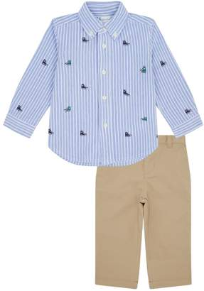 Polo Ralph Lauren Oxford Shirt and Chino Trousers Set