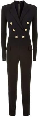 Balmain Long Sleeve Jumpsuit