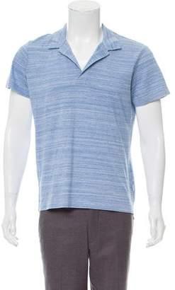 Orlebar Brown Woven Polo Shirt