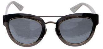 Christian Dior Mirrored Cat-Eye Sunglasses