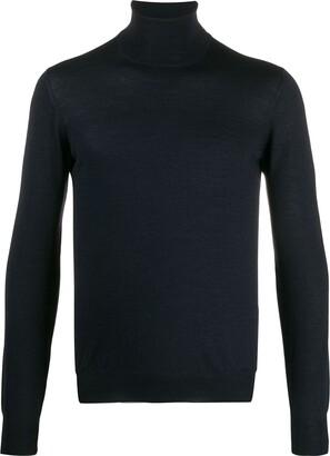 Tagliatore roll neck knit top