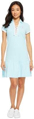 U.S. Polo Assn. Birdeye Pique Polo Dress Women's Dress