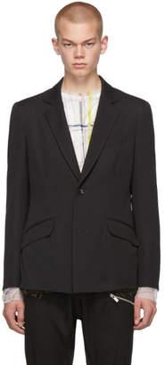 Sulvam Black Short Jacket