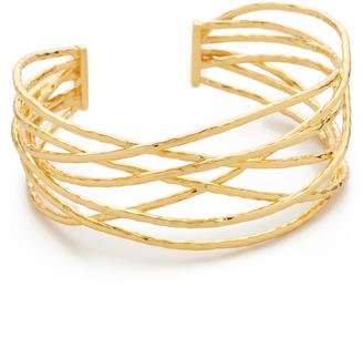 Gorjana Lola Cuff Bracelet $125 thestylecure.com