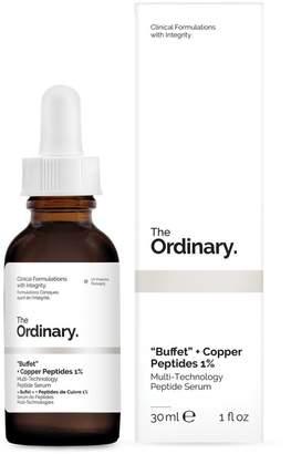 "The Ordinary Buffet"" + Copper Peptides 1% Multi-Technology Peptide Serum"