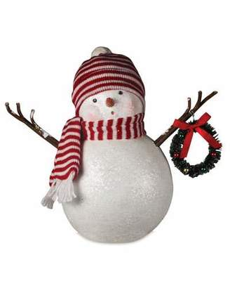 Bethany Lowe Frosty in Stocking Cap Christmas Decor Statue
