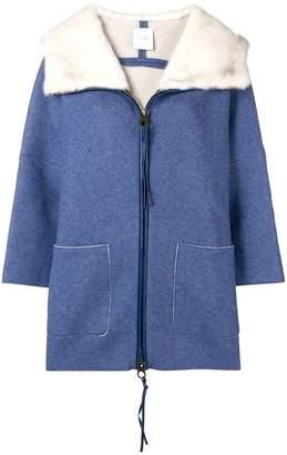 Agnona loose fitted coat